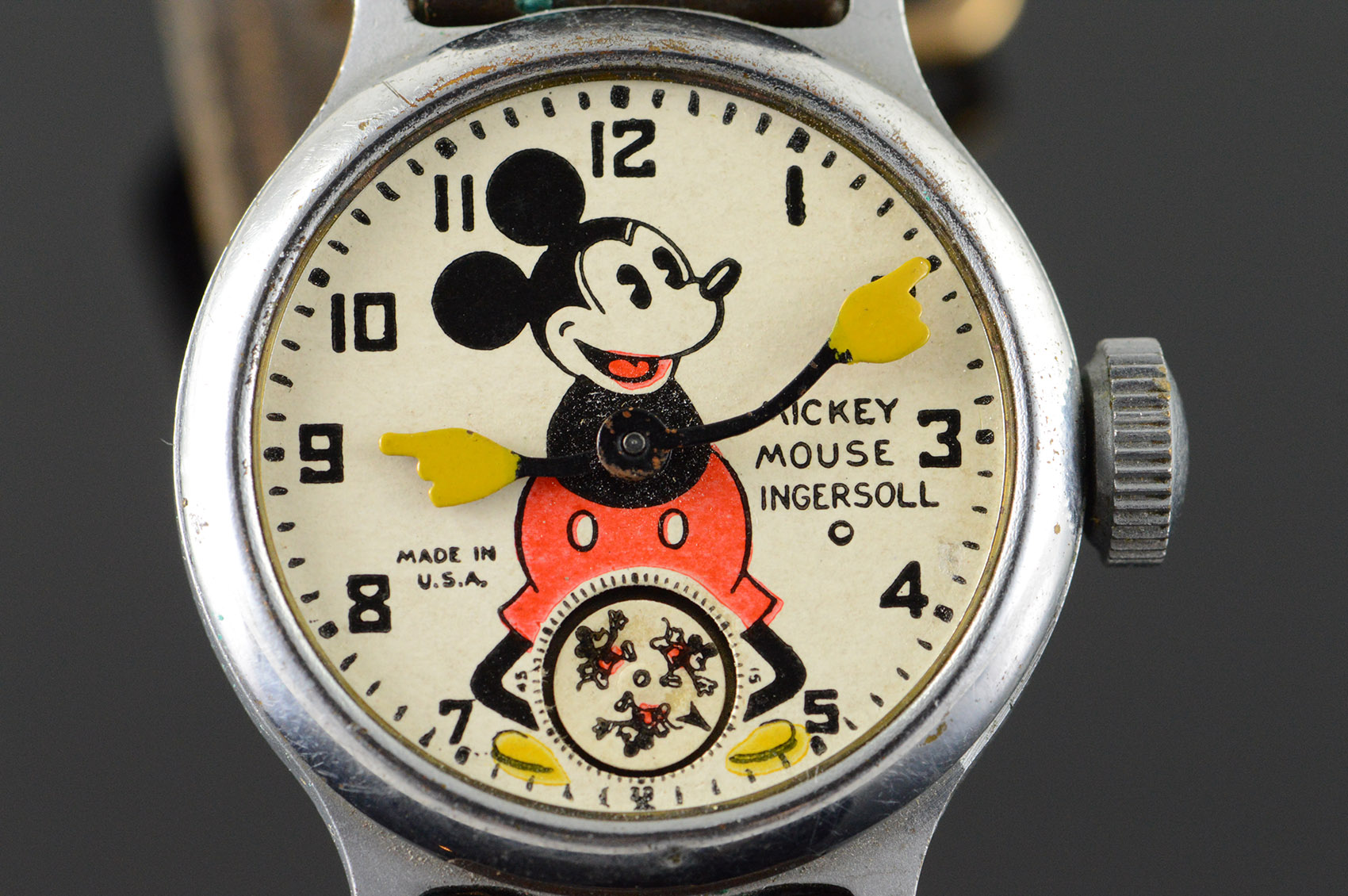 Ceas Ingersoll Mickey Mouse